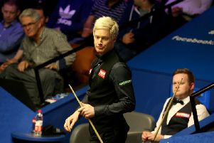 Snooker champion Neil Robertson had to miss a match in Yorkshire after accidentally driving to the wrong Barnsley. Picture: PA