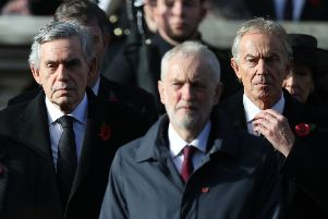 Jeremy Corbyn and Tony Blair have different visions for the future of the Labour party. Picture: Andrew Matthews/PA Wire