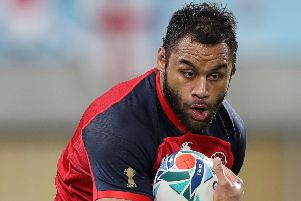 England's Billy Vunipola: Big doubt.