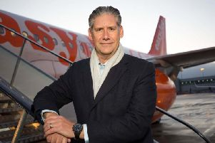 EasyJet's chief executive Johan Lundgren Picture: PA wire