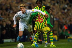 Patrick Bamford and Leeds United showed resolve to beat West Brom. '(Picture: Bruce Rollinson)