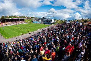Bradford Bulls fans at the game against Dewsbury Rams last month, dubbed the 'last game at Odsal' as the cash-strapped club departs for Dewsbury in 2020. (PIC: SWPIX)