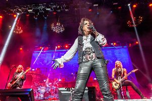 Alice Cooper at First Direct Arena, Leeds. Picture: Danny Gartside