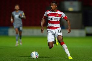Niall Ennis: Unhappy return.'Picture: Bruce Rollinson