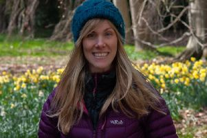 Faith Douglas, curator of Thorp Perrow Arboretum in Bedale. Picture by Ken Nash/Nash Photography.