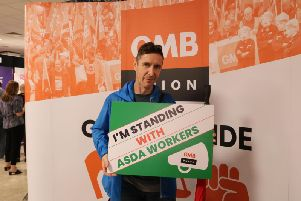 The actor is backing the protest