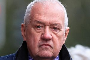 Hillsborough match commander David Duckenfield, who is accused of the manslaughter by gross negligence of 95 Liverpool supporters at the 1989 FA Cup semi-final, pictured arriving at Preston Crown Court on October 7.'' Photo: Peter Byrne/PA Wire