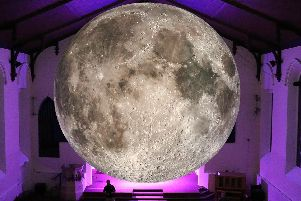 The Moon is landing at Lancaster Priory this November