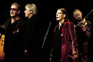 June Tabor and Oysterband in concert. Picture: Judith Burrows