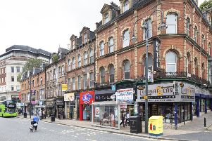 The Grand Theatre Quarter in Leeds has been added to Historic England's 'at risk' register