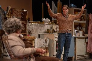 Maggie McCarthy and Siobhan OKelly in The Beauty Queen of Leenane at Hull Truck.