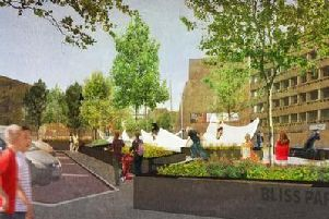 Construction of Bliss Park was originally slated to begin early this year.