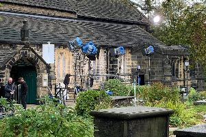 Last Tango in Halifax filming in Elland. Picture: Adrian Kellett