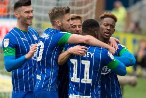 Jamal Lowe's winning goal against Nottingham Forest sparked joyous scenes at the DW.