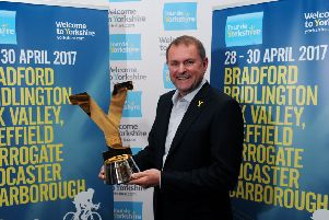 Sir Gary Verity is the former chief executive of Welcome to Yorkshire.