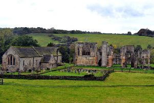 Easby Abbey is said to be one of the best preserved monasteries of the 12th century Premonstratensian order. Picture by Gary Longbottom.