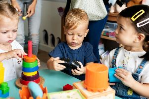 Childcare costs in Yorkshire