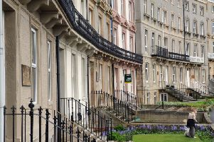 Hudson's financial ruin meant he could never complete the Royal Crescent terrace on Whitby's West Cliff estate