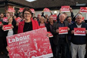 Sally Gimson has been selected as Labour's next parliamentary candidate for Bassetlaw.