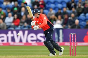 England's Joe Root during the Vitality IT20 match at Sophia Gardens earlier this year. Picture: Simon Galloway/PA