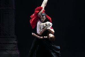 gothic revival: Northern Ballet's Dracula is in the newly refurbished Quarry Theatre at Leeds Playhouse this week.