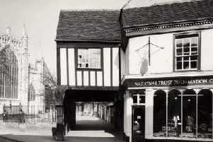 1 College Street has been a National Trust gift shop and visitor centre since 1969