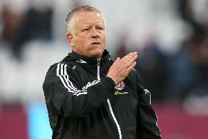 Sheffield United manager Chris Wilder. Picture: James Wilson/Sportimage