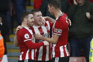Out in front with Sheffield United.