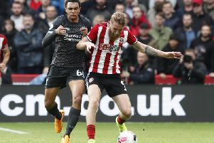 Oli McBurnie has lost his place in the Sheffield United XI in recent weeks, but it has not cost him a Scotland call-up
