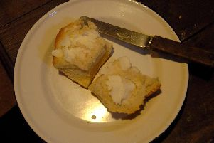 Bread and dripping for lunch at the Workhouse Museum in Ripon Picture: Mike Cowling