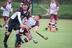 Action from Lytham St Annes Men's defeat by Windermere Picture: MARTIN BOSTOCK