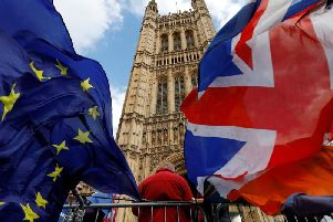 A 10-strong list of words brought to prominence by Brexit has been issued for the first time by Collins Dictionary. Credit: TOLGA AKMEN/AFP/Getty Images