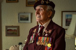 John Jeffires, 97,  from Richmond, North Yorkshire.' Picture: Bruce Rollinson
