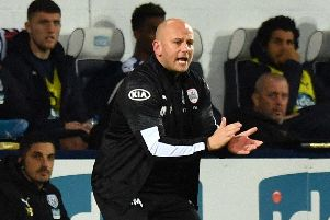 Caretaker manager Adam Murray. PIC: Anthony Devlin/PA Wire.