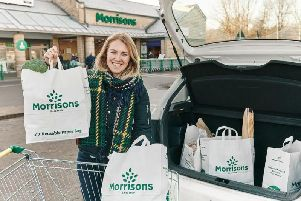 Bradford-based Morrisons saw sales decline 1.7 per cent