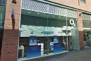 Courier Nicholas Cooper stole mobile phones intended for the O2 shop at Trinity Walk shopping centre in Wakefield.'Image: Google