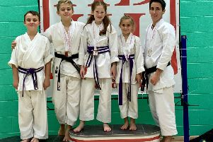 The Hadashi Senshi Do Karate team from Lancaster took part in the National Championships in Birmingham.