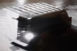 Humberside Police have released this CCTV image of a van used in a burglary in Hull.