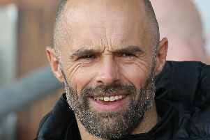 Rotherham United's manager Paul Warne.