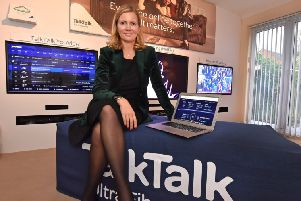 TalkTalk's CEO Tristia Harrison. Picture David Harrison.