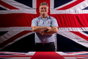 Andy Ormrod of Flying Colours Flagmakers.