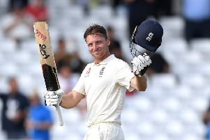 Rare century: From Jos Buttler. Picture: Getty Images.
