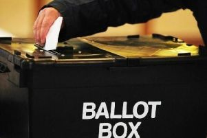 Stock photo of a ballot box. Photo: PA