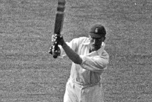 England cricketer Frank Woolley: One of the few experienced players on tour.