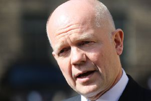 Tory grandee William Hague is a former Foreign Secretary.