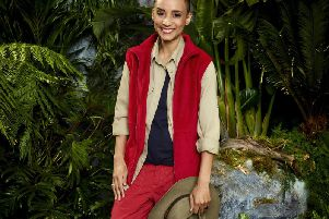 Former Preston and now Radio 1 DJ Adele Roberts in the jungle for I'm a celebrity: Get me out of here!