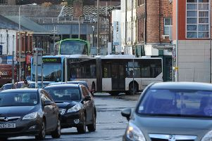 Do 'bendy buses' increase or decrease congestion in cities like Leeds?