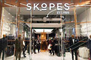 Skopes' store at Westfield in London