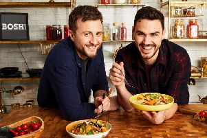 Henry Firth and Ian Theasby aka BOSH! are to host their own ITV vegan cookery series in the New Year