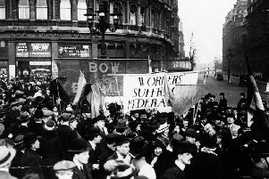 Suffrage groups like the Pankhursts' WSPU have been criticised for leaving behind working class womens' interests.